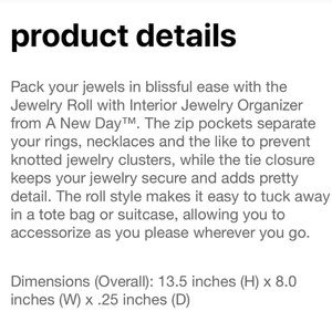 Target Storage & Organization - Jewelry Organizer